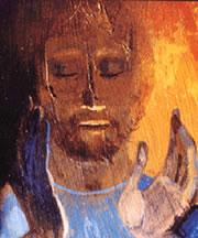 Christ qui prie