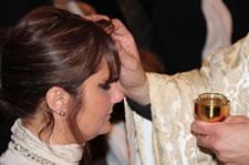 Baptême d'une adulte